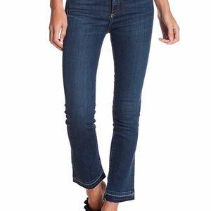"Veronica Beard Carolyn 10"" Baby Boot Jeans 27"